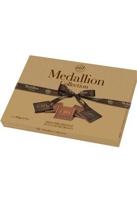 Elit Medallion Çikolata Collection Altın Kutu 288Gr