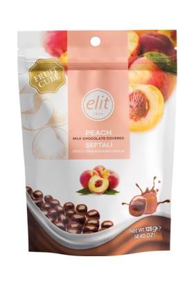 Elit Meyve Küpü Şeftali Çikolata 125Gr