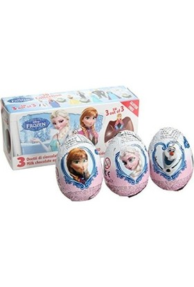 Zaini Frozen (Karlar Ülkesi) Yumurta 3'Lü 60 Gr