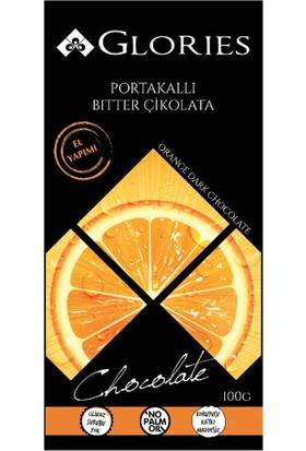 Glorıes Portakallı Bitter Çikolata 50Gr