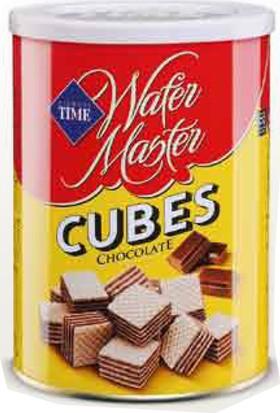 Time Wafer Master Cubes Çikolatalı 220 Gr