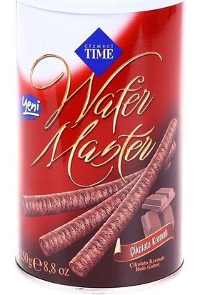 Time Wafer Master Çikolatalı 250 Gr
