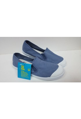 Potomaç Kadın Mavi Organik Keten Ayakkabı P08295 JEANS CAMPING ELÁSTICO (PT)