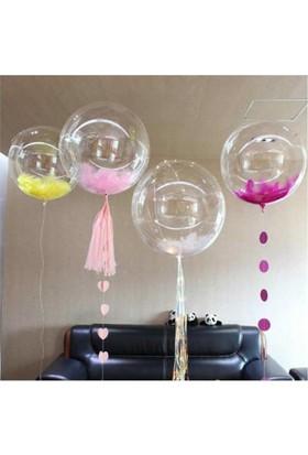 Brode Şeffaf Jumbo Balon 18 İnç