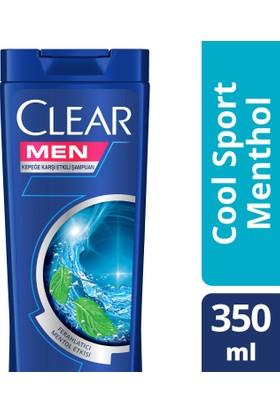 Clear Şampuan Cool Sport Menthol 350 ml