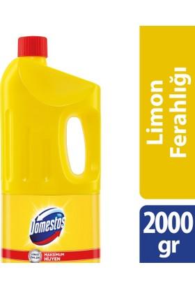 Domestos Çamaşır Suyu Limon Ferahlığı 2 lt