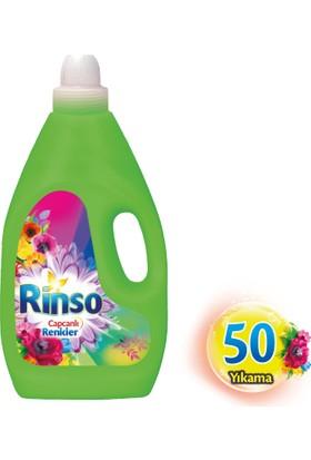 Rinso Capcanlı Renkler Sıvı Çamaşır Deterjanı 3.000 ml