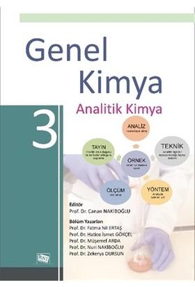 Genel Kimya 3 Analitik Kimya