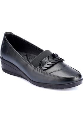 Polaris 82.150070.Z Siyah Kadın Ayakkabı