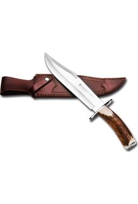 Joker Knives Cc101 Bowie Büyük Boy Geyik Boynuz Saplı Bıçak