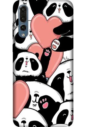 Tomkas Samsung Galaxy S9 Kılıf Desenli İnce Silikon Kapak - Sevimli Panda