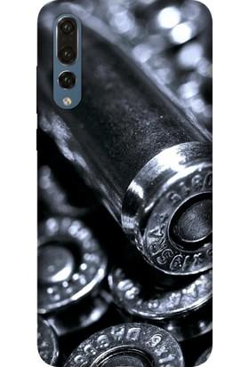 Tomkas Samsung Galaxy S9 Kılıf Desenli İnce Silikon Kapak - Kurşun