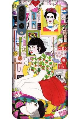 Tomkas Samsung Galaxy S9 Kılıf Desenli İnce Silikon Kapak - Frida SM