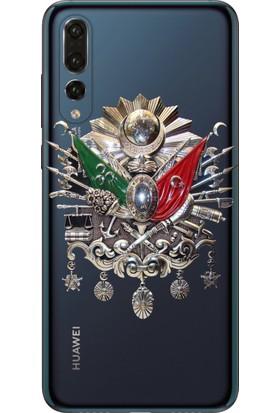Tomkas Samsung Galaxy S9 Plus Kılıf Desenli İnce Silikon Kapak - Osmanlı İmza