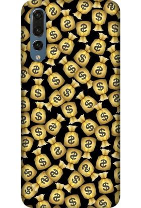 Tomkas Samsung Galaxy S9 Plus Kılıf Desenli İnce Silikon Kapak - Money Man