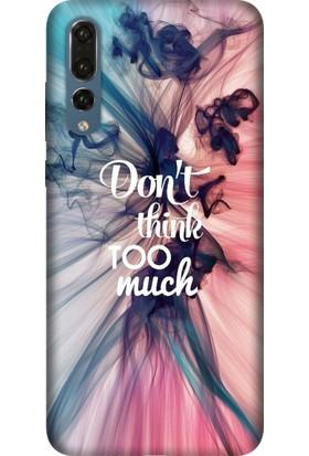 Tomkas Huawei P20 Pro Kılıf Desenli İnce Silikon Kapak - Too Much