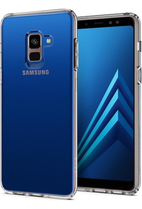 Spigen Galaxy A8 (2018) Kılıf Liquid Crystal Clear - 590CS22748