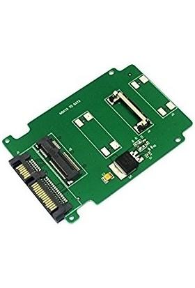 Alfais 4226 Msata Mini Sata SSD To Sata Çevirici Dönüştürücü Adaptör