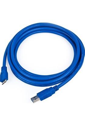 Alfais AL-4915 USB 3.0 HDD Harddisk Kablosu 5 Metre Harddisk Veri Bağlantı