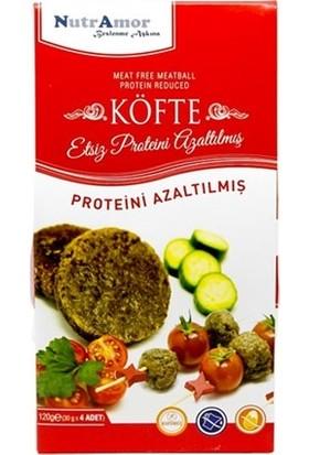 Nutramor Düşük Proteinli Ve Glutensiz Etsiz Köfte 120 Gr