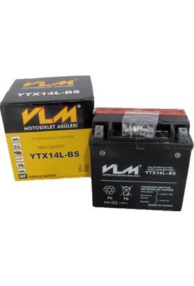 Vlm Honda Nsr 250 R VLM Akü YTX14L-BS