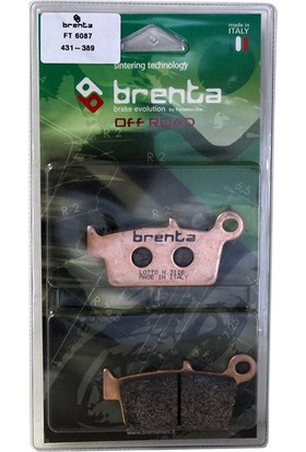 Brenta Honda Xr 650 R Disk Sinter Metal Off-Road Fren Balata
