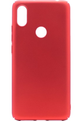 KNY Xiaomi Mi 8 Kılıf İnce Sert Arka Kapak + Cam Ekran Koruyucu