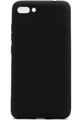 KNY Asus Zenfone 4 Max ZC520TL Kılıf Ultra İnce Mat Silikon + Nano Cam Ekran Koruyucu