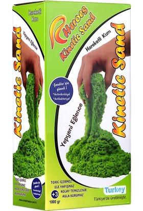 Kinetic Sand Uzay Kumu - 1 kg Premium Oyun Hamuru - Yeşil