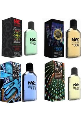 Nyc Park Avenue Vip Reserve Edt 100 Ml*4 Erkek 4 lü Parfüm Set