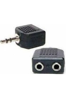 Zoomex SS-1825 3.5mm Stereo 2X Kulaklık Çoklayıcı