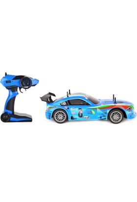 Black Horse J601-2 1/10 Ölçek Uzaktan Kumandalı Şarjlı Spor Araba Mavi