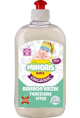 Minoris Baby Organik Antialerjik Biberon Emzik Temizleyici