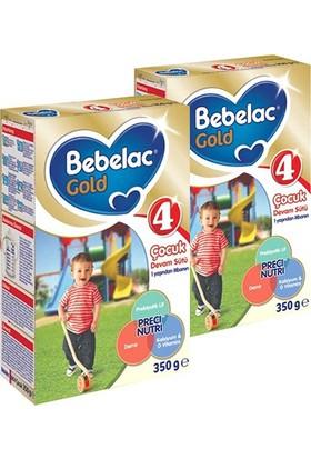 Bebelac Gold 4 Çocuk Devam Sütü 350 gr 2'li Paket