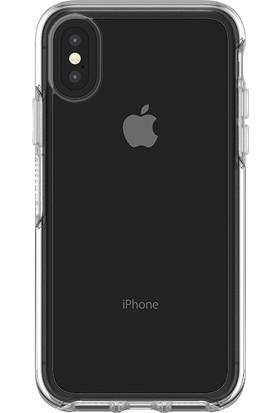 OtterBox Apple iPhone X Symmetry Clear Sararma Yapmayan Uv Dayanıklı Kılıf Şeffaf