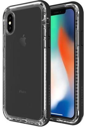 Lifeproof Next Apple iPhone X Kılıf Black Crystal