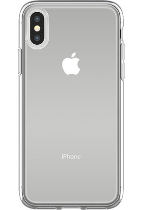 OtterBox Apple iPhone X Kılıf Şeffaf Clearly Protected Skin