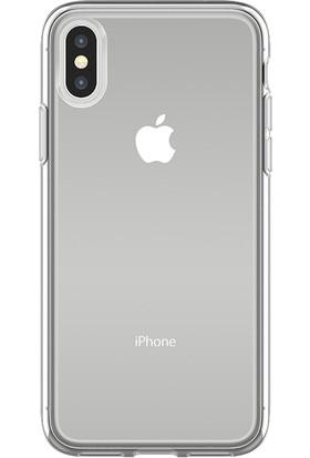 OtterBox Apple iPhone X Kılıf Şeffaf Clearly Protected Skin