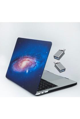 Macstorey Apple Yeni Yeni Macbook Pro A1706 A1708 13 inç 13.3 inç Kılıf Kapak Hard Case Earth Kutulu 1251