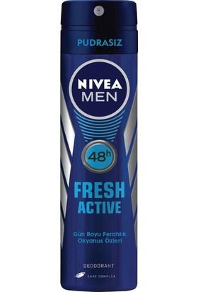 Nivea Fresh Sprey Deodorant 150Ml Erkek