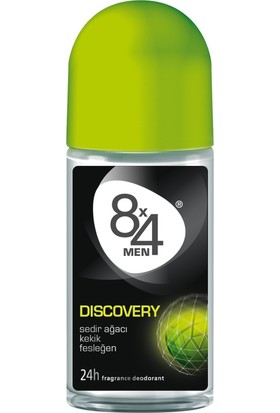8X4 Discovery Roll-On Deodorant 50Ml Erkek