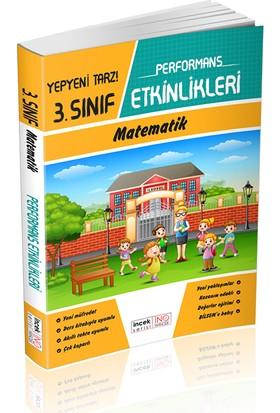 İnovasyon 3. Sınıf Matematik İncek Serisi Performans Etkinlikleri
