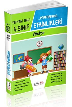 İnovasyon 4. Sınıf Türkçe İncek Serisi Performans Etkinlikleri