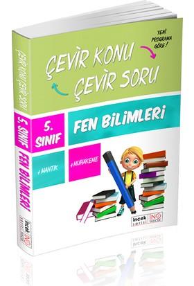 İnovasyon Yayınları 5. Sınıf Fen Bilimleri Çevir Konu Çevir Soru İncek Serisi