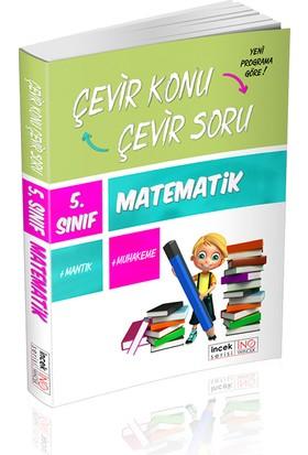 İnovasyon Yayınları 5. Sınıf Matematik Çevir Konu Çevir Soru İncek Serisi
