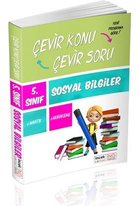 İnovasyon Yayınları 5. Sınıf Sosyal Bilgiler Çevir Konu Çevir Soru İncek Serisi