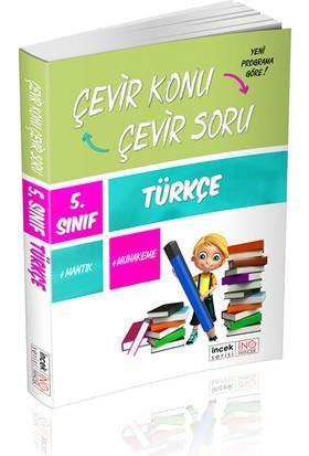 İnovasyon Yayınları 5. Sınıf Türkçe Çevir Konu Çevir Soru İncek Serisi