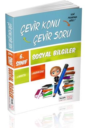 İnovasyon Yayınları 6. Sınıf Sosyal Bilgiler Çevir Konu Çevir Soru İncek Serisi