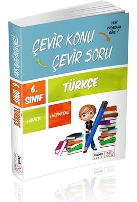 İnovasyon Yayınları 6. Sınıf Türkçe Çevir Konu Çevir Soru İncek Serisi