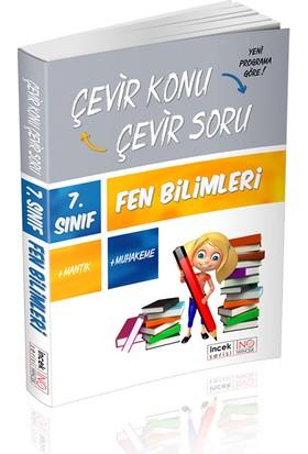 İnovasyon Yayınları 7. Sınıf Fen Bilimleri Çevir Konu Çevir Soru İncek Serisi